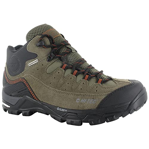 Mens HI-TEC OX Belmont Mid I WP Waterproof Michelin Sole Walking Hiking Boots-