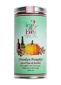 Tea For Eve-Drunken Pumpkin Seasonal Tea, Spiced Rum & Bourbon