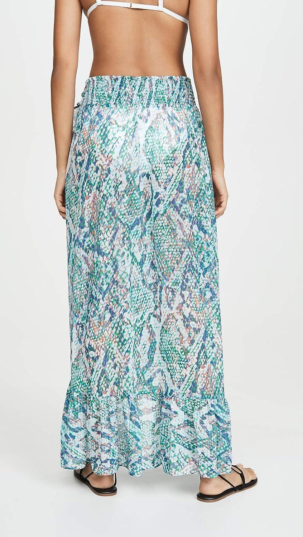 Ramy Brook Womens Snake Printed Verona Maxi Skirt
