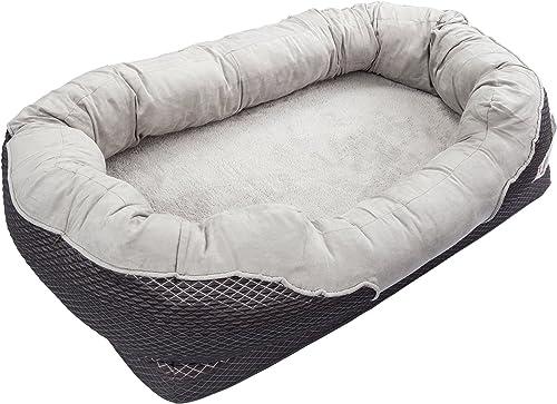 BarksBar-Large-Gray-Orthopedic-Dog-Bed-40-x-30-inches