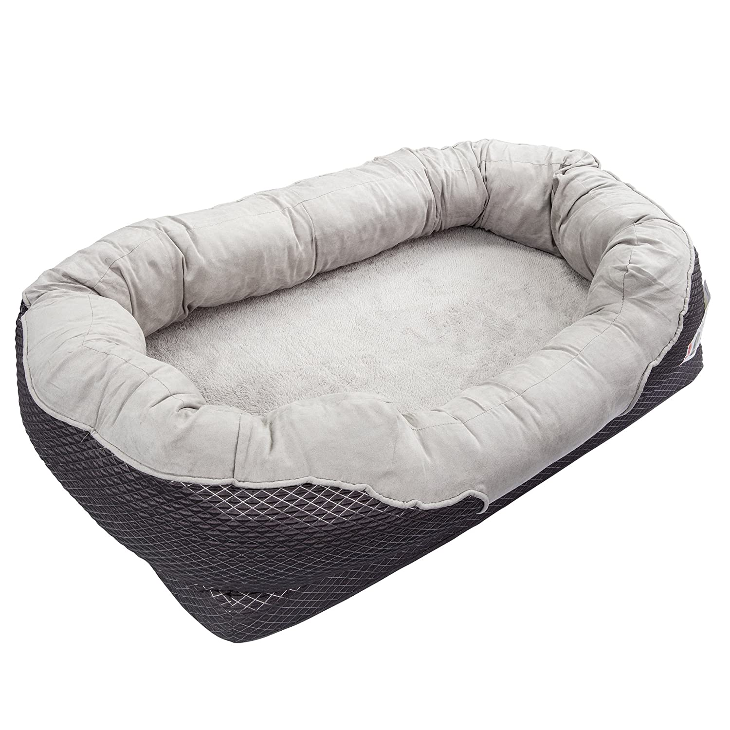 beds products pls large paradise foam orthopedic for bed dog dogs pet