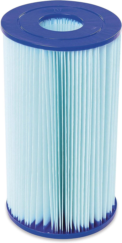 BESTWAY 58505 - Filtro de Agua Anti-Microbial Tipo IV para Depuradora de Cartucho 9.463 litros/hora: Amazon.es: Juguetes y juegos