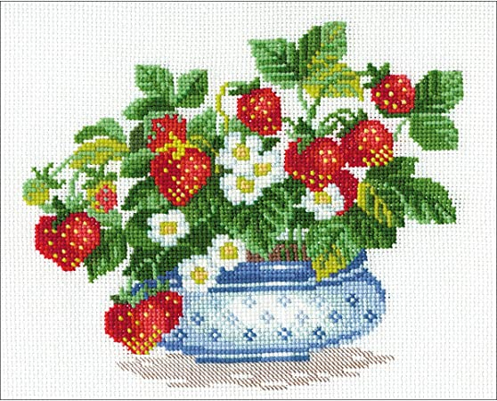 RIOLIS  1491  SQUIRRELS  COUNTED  CROSS STITCH  KIT  Aida 14 count