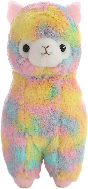 """Cuddly Plush Soft Baby Stuffed Animals Toy Llama Lamb Yellow Alpaca Doll 7 /"""" for"""