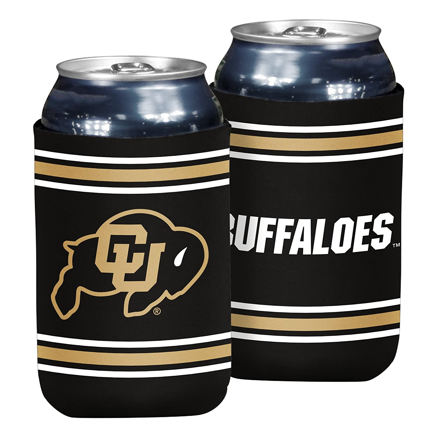 NCAA Colorado Golden Buffaloes Flat Drink Coozie