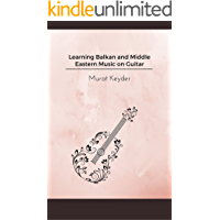 Learning Balkan and Middle Eastern music on guitar book cover