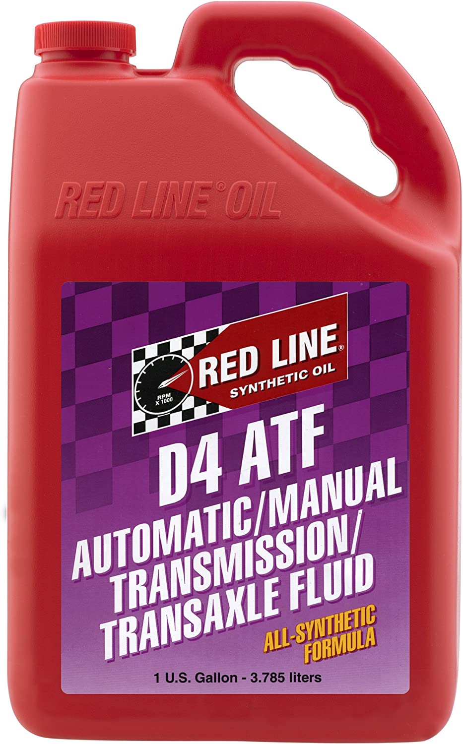Red Line 30505 D4 Automatic Transmission Fluid - 1 Gallon