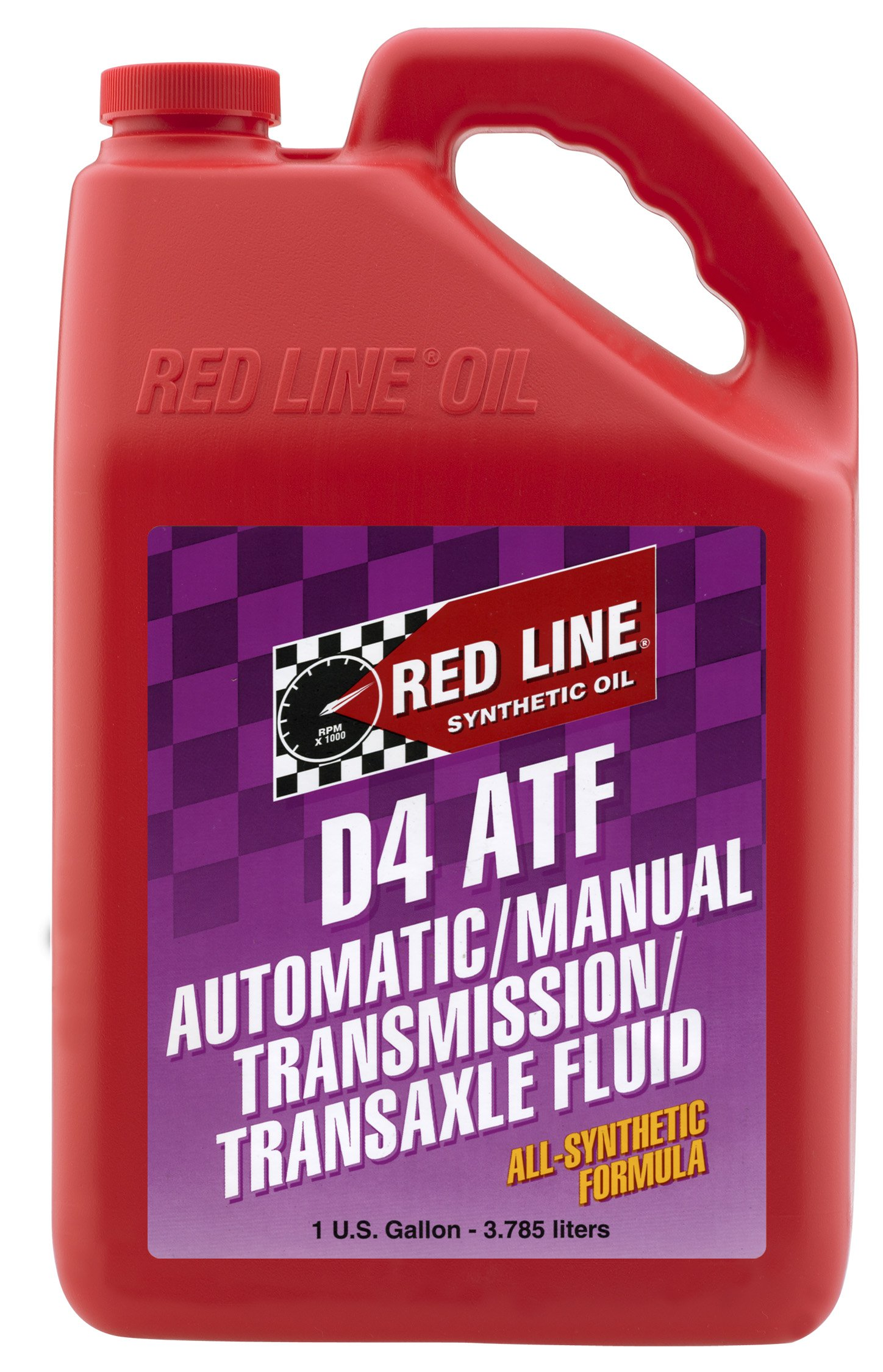 Red Line 30505 D4 Automatic Transmission Fluid - 1 Gallon by Red Line
