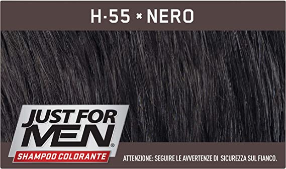 (1211)  COMBE ITALIA JUST FOR MEN TINTA NERO 30ML