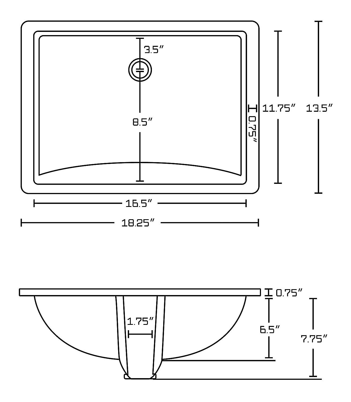 Ekena Millwork BKTM02X14X14HACRS-CASE-2 2 W D x 14 H Hamilton Bracket Piece Steel 2-Pack