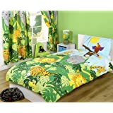 Raw Design Parure de lit pour enfant Motif jungle