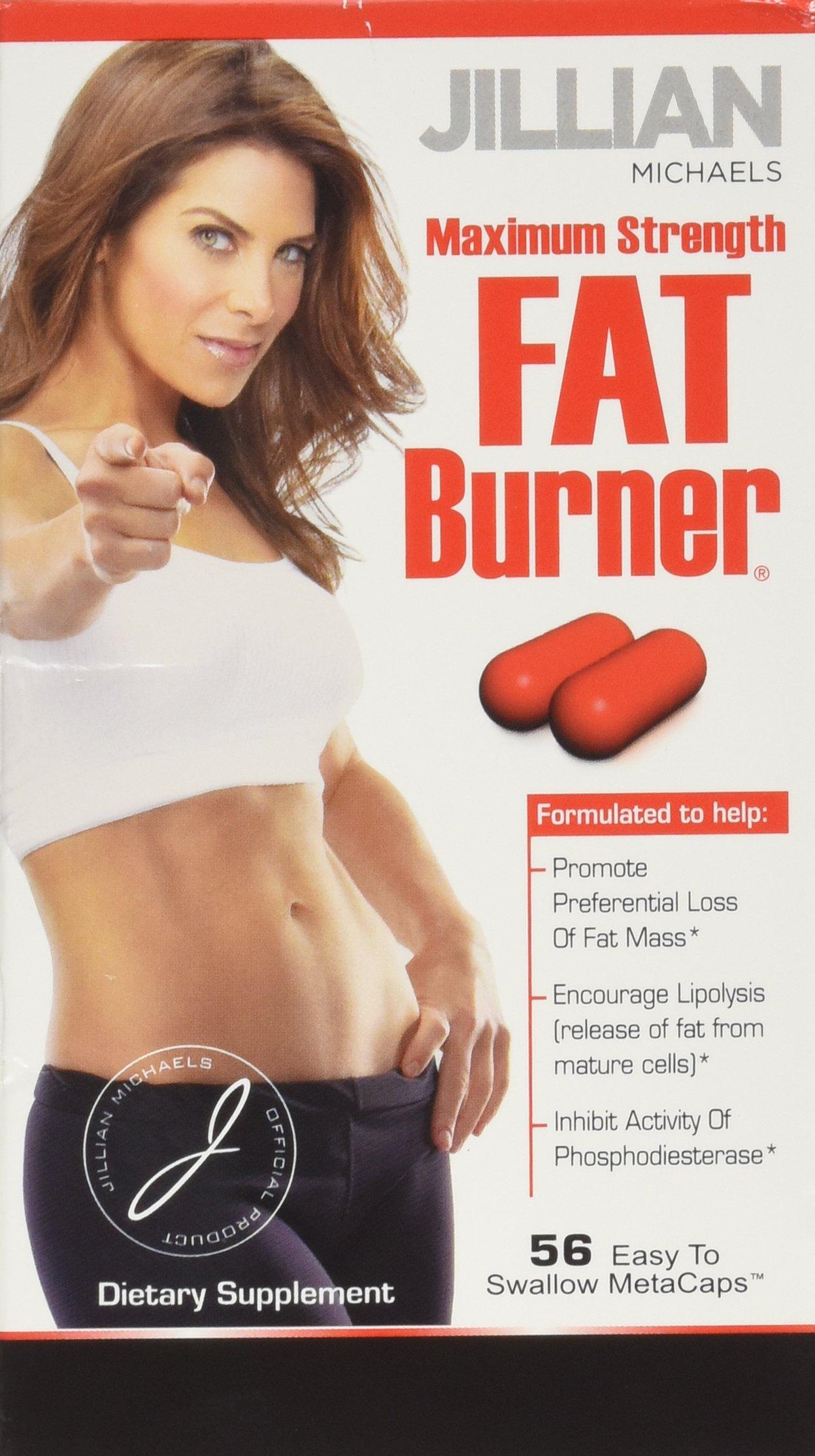 Thin Care Jillian Michaels Fat Burner MetaCaps, 56-Count