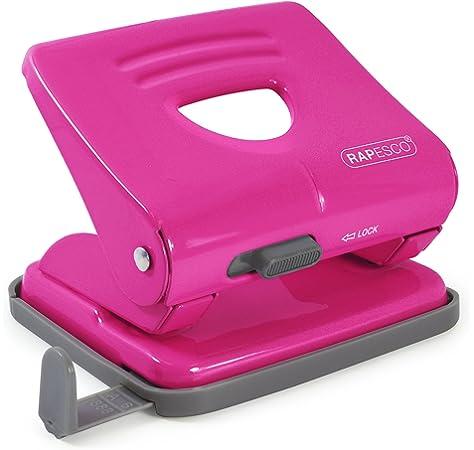 Rapesco Bug - Mini grapadora con caja de 1000 grapas 26/6, color rosa: Amazon.es: Oficina y papelería