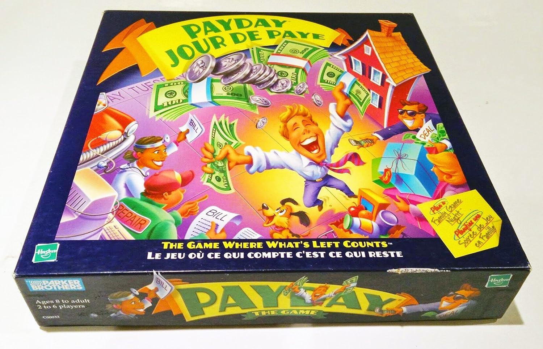 Payday Board Game Parker Brothers 2000 Edition: Amazon.es: Juguetes y juegos
