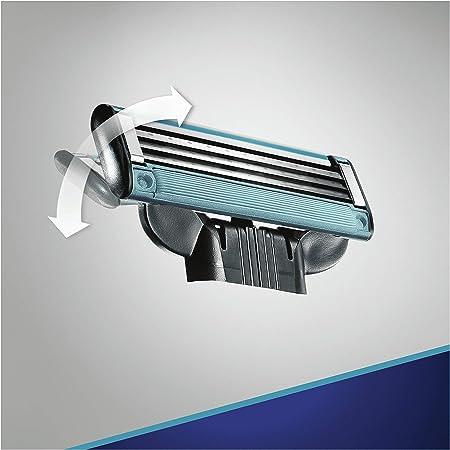 Gillette Mach3 Start Recambio Maquinilla de Afeitar 8 Uds: Amazon ...