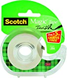 3M 8-1930DP Scotch Tape Dispenser with 1 Roll of Scotch Magic Tape 19 mm x 30 m