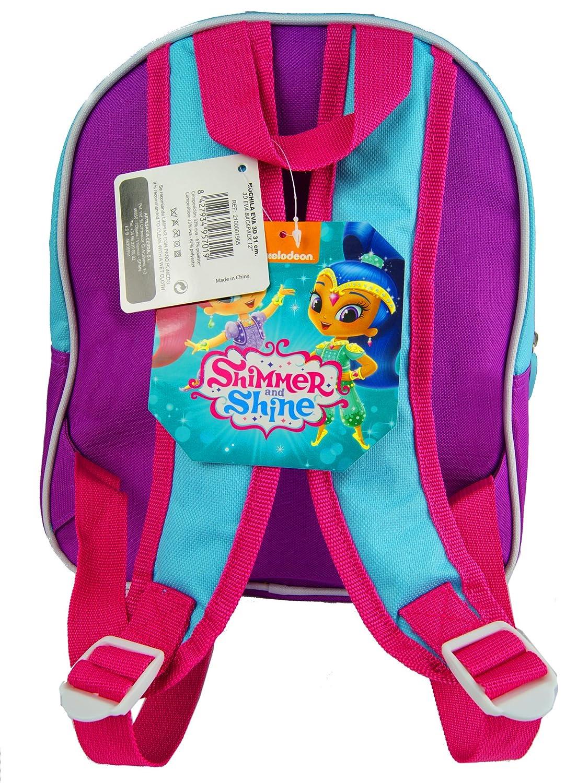 Amazon.com | Shimmer and Shine 3D Backpack Official Licensed Children Backpack 3D EVA | Kids Backpacks