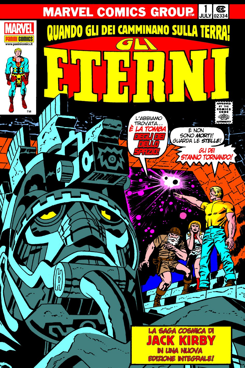 Gli eterni. Quando gli dei camminano sulla Terra! Copertina rigida – 6 ott 2016 Jack Kirby A. Toscani V. Vitali Panini Comics