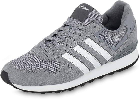 adidas 10K, Zapatillas de Running para Hombre, Gris (Grey/FTWR White/Grey Five Grey/FTWR White/Grey Five), 39 EU: Amazon.es: Zapatos y complementos