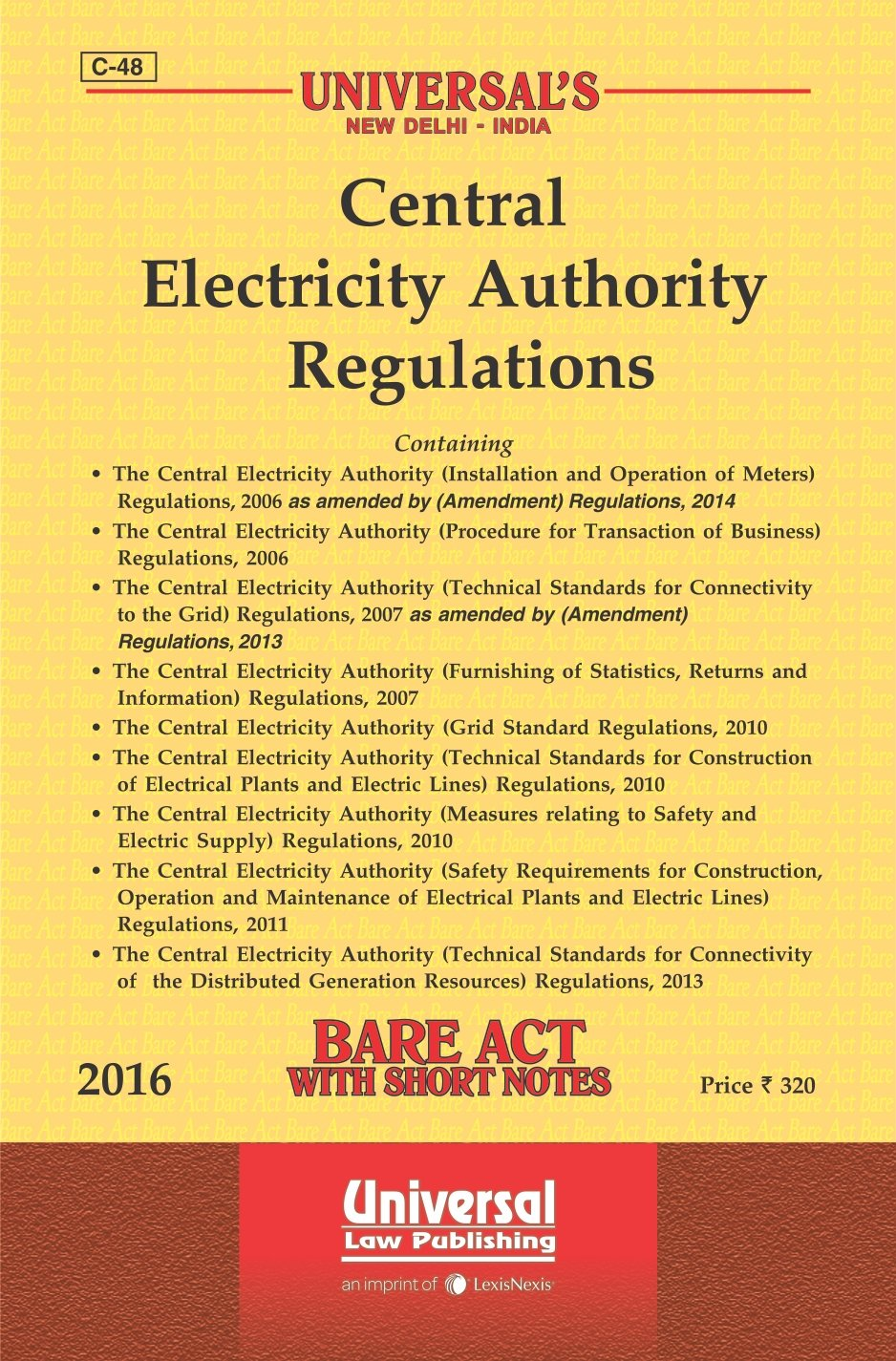Buy Central Electricity Authority Regulations Book Online at Low