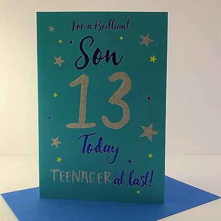 Son 13th Birthday Card