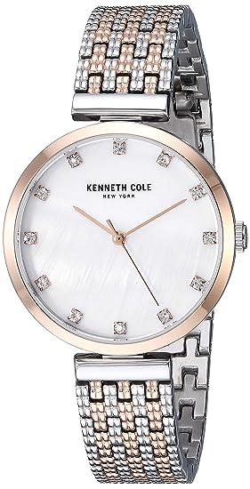 Kenneth Cole New York Mujer Reloj De Pulsera Analógico Cuarzo Acero Inoxidable kc50256003