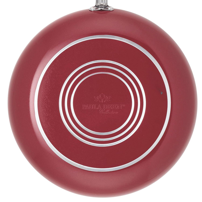 Paula Deen Signature Aluminum Nonstick Dishwasher Safe 11-Piece Cookware Set: Amazon.es: Hogar