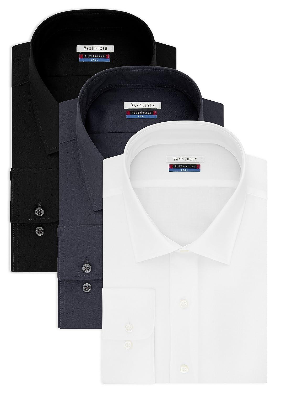 Amazon Van Heusen Mens Big And Tall Dress Shirts Big Fit Flex