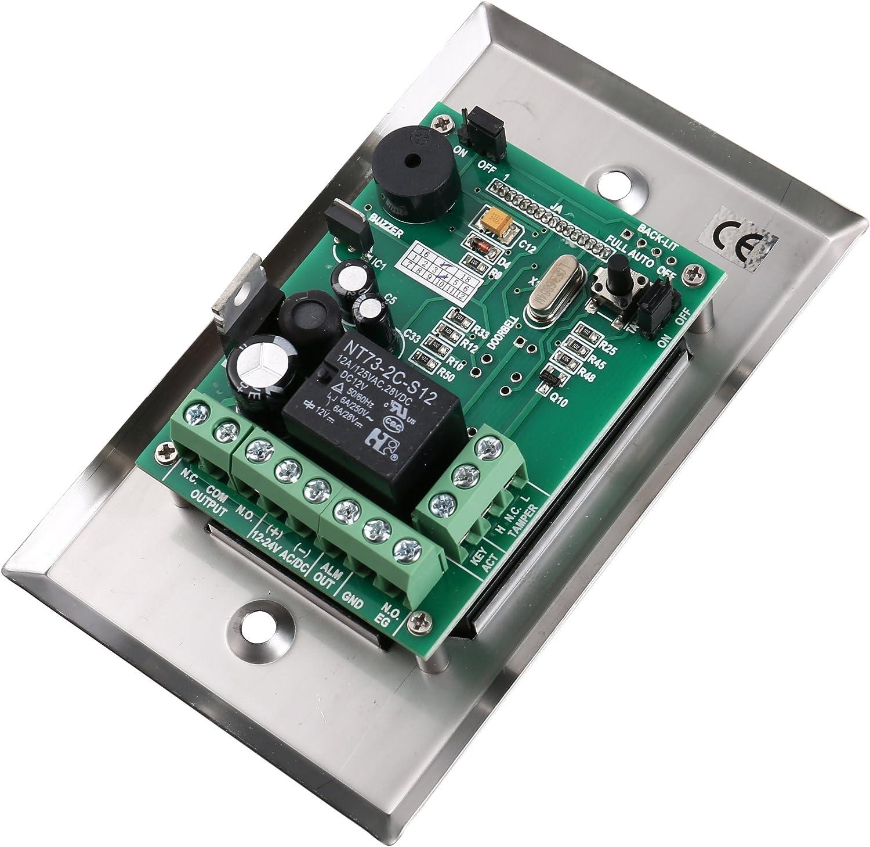 Luminous Backlight Rfid Digital Access Control Keypad Card/code/card+code Home & Kitchen
