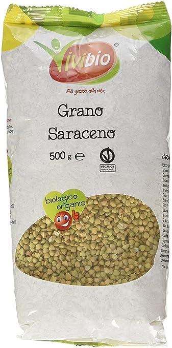 4 opinioni per Vivibio Grano Saraceno- 3 pezzi da 500 g [1500 g]