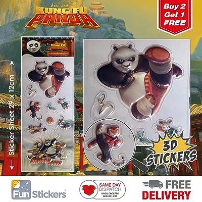 Kung Fu Panda Stickers 3D 4001: Kitchen & Dining