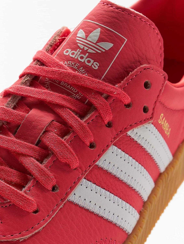 new styles 29420 ba849 adidas Originals Damen Sneakers Sambarose W rot 36 Amazon.de Schuhe   Handtaschen