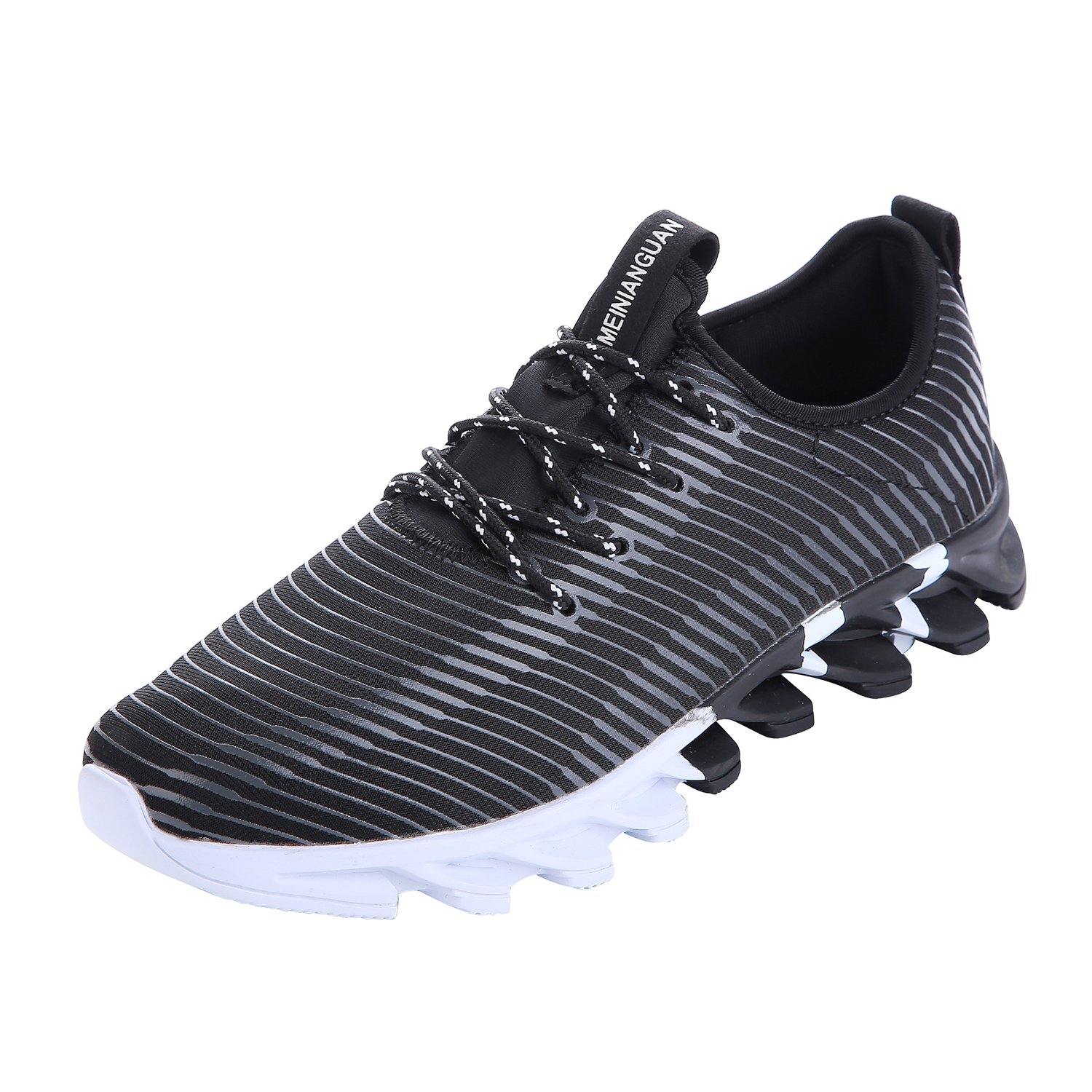54b8ad54fbb11 NEOKER Homme Chaussure de Sports Running Sneakers Baskets Fitness Noir  39-44 durable service