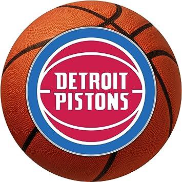 FANMATS NBA Detroit Pistons Nylon Face Basketball Rug