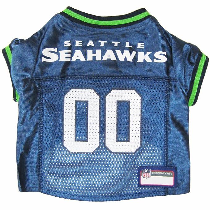Amazon.com : NFL SEATTLE SEAHAWKS DOG Jersey, Medium : Seahawks Dog Jersey : Pet Supplies