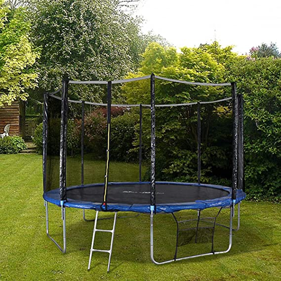 Alices Garden - Cama elastica, Trampolin de 370 cm, aguanta hasta ...