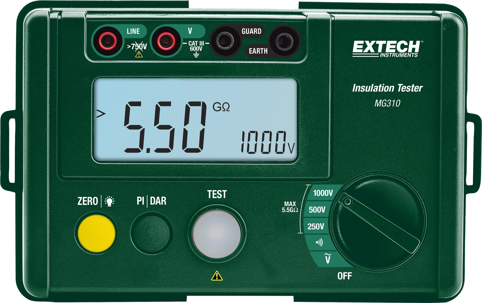 Extech MG310 Compact Digital Insulation Tester by Extech (Image #1)