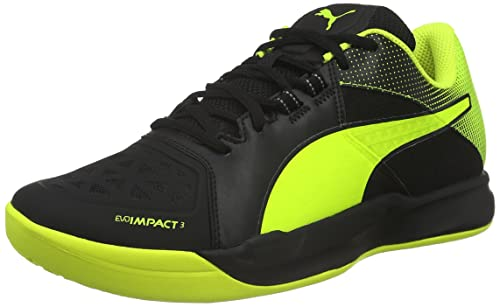 Puma Evoimpact 3.2 Scarpe da Calcio Uomo Nero Black Safety Yellow 01 40.5 E