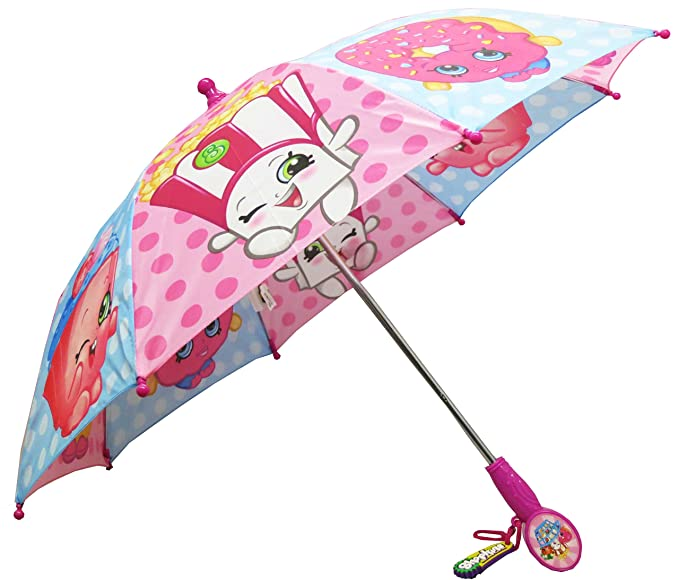 Shopkins Pink and Blue Girls Umbrella