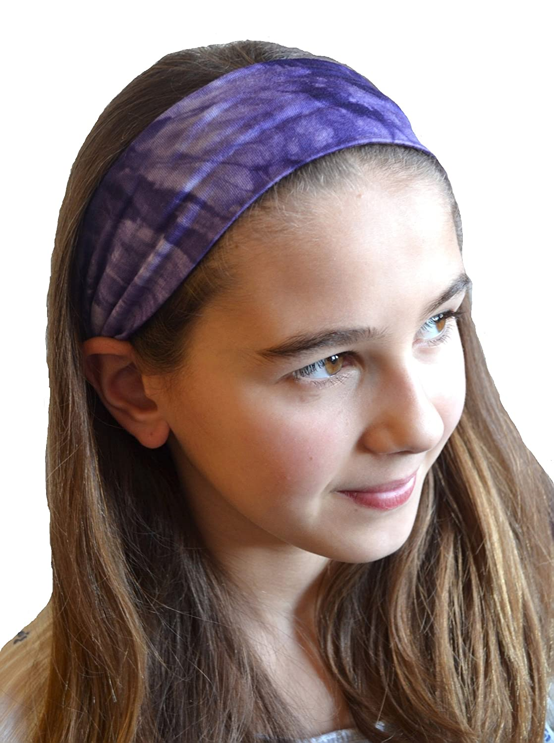 "2.5"" Tie Dye Cotton Stretch Headband"