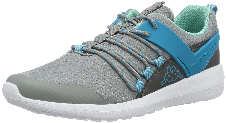 Kappa Damen Stamina Sneaker Grau (Grey/Petrol)2018 Letztes Modell  Mode Schuhe Billig Online-Verkauf