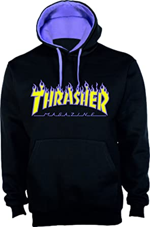 NADA Sudadera Replica Logo Thrasher (M)