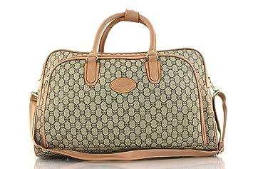 Ladies Handbag Designer Style Holdall Satchel Travel Cabin Weekend ...