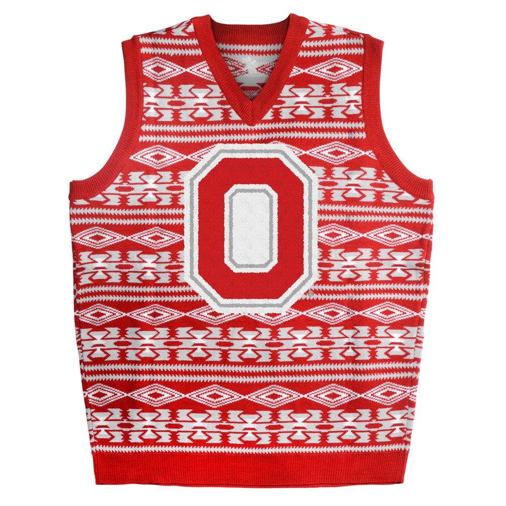 Amazon.com : Elite Fan Shop Ohio State Buckeyes Ugly Christmas ...