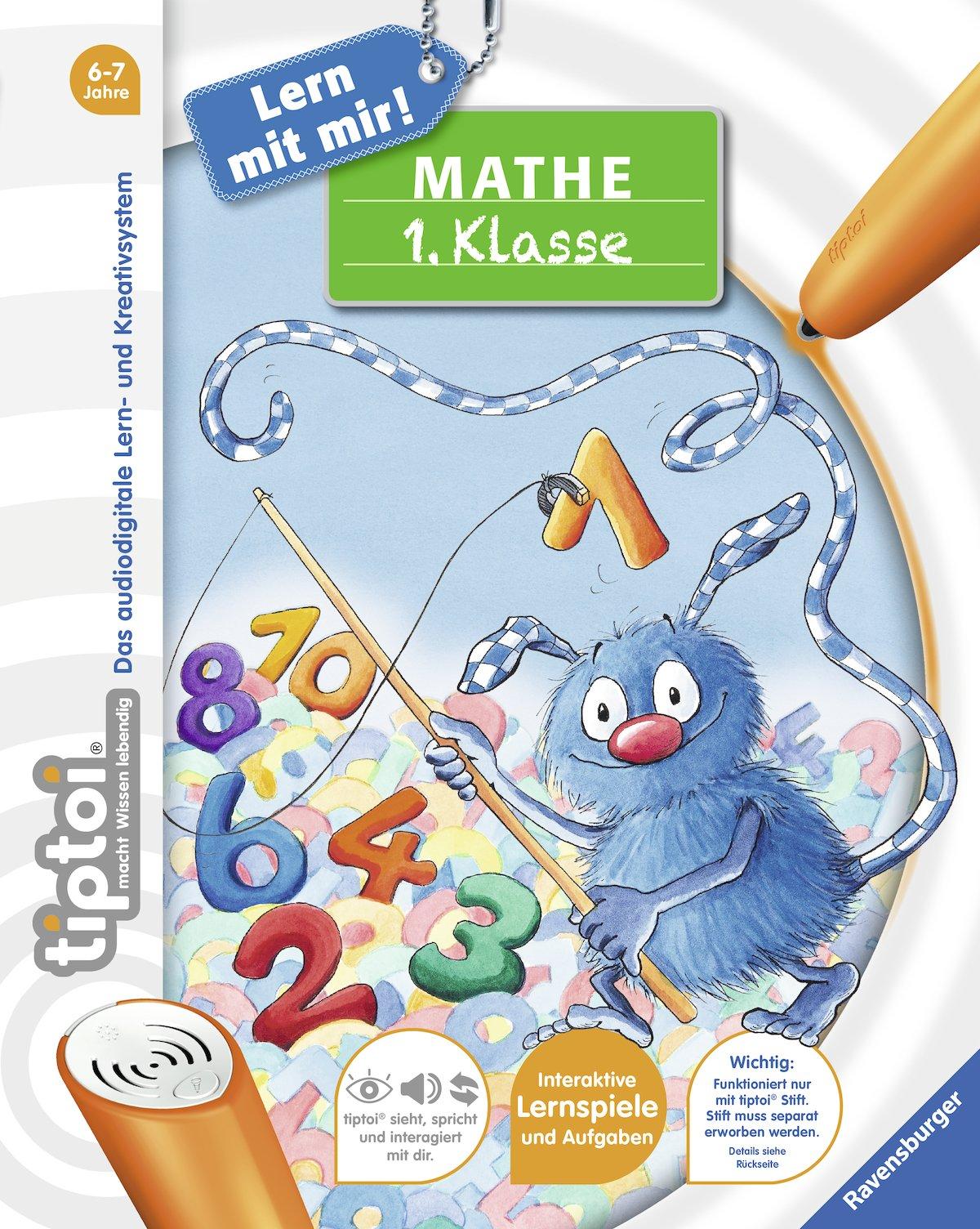 Tiptoi Mathe 1 Klasse 4005556006403 Amazon Com Books