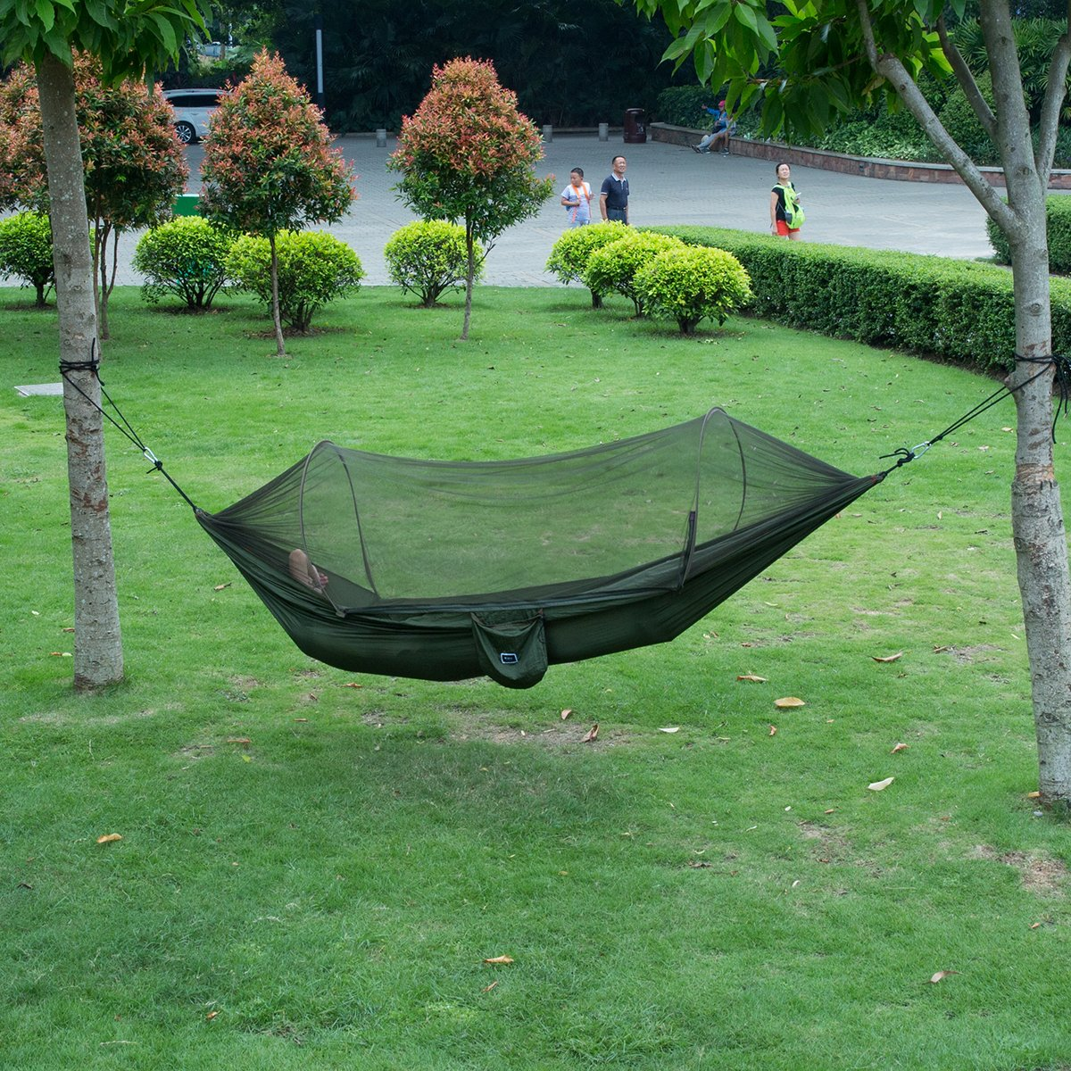 isYoung Mosquito Parachute Portable Outdoors Image 2