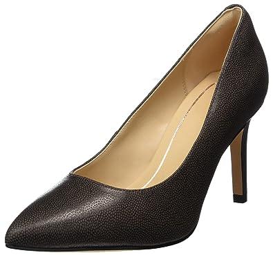 Marques Chaussure femme Clarks femme Dinah Keer Pewter Metallic