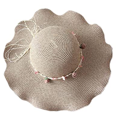 Aloiness Panama Summer Vintage Style Seagrass Hat Fedora Trilby Hat Hat  Straw Beachcomber Cheap for Fancy ba8c97a498eb