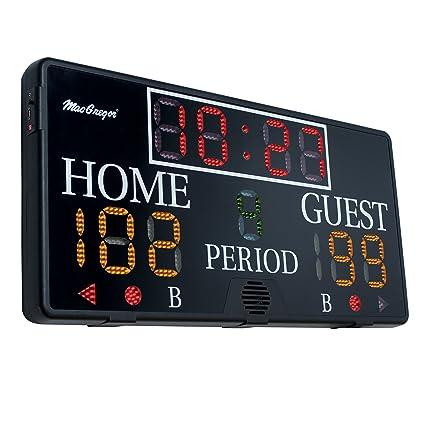amazon com macgregor multisport indoor scoreboard 4 x 2 feet rh amazon com