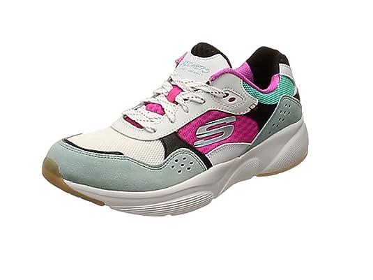 Skechers Damen Meridian charted Sneaker, grau